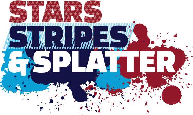 Stars Stripes & Splatter